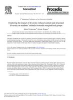Exploring the impact of diversity-infused content and structural diversity on students' attitudes towards marginalized groups