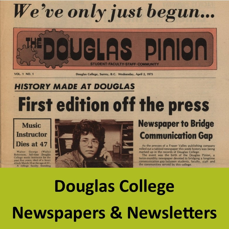 Douglas College Newspapers